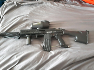 Tippman A5  upgraded and other goodys