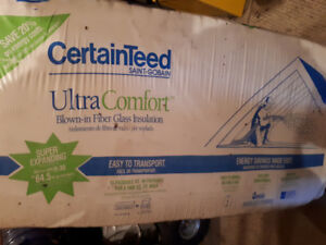 Super expanding blow in insulation for sale 3 1/2 bags