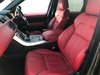 2014 63 reg Land Rover Range Rover Sport 3.0SD DYNAMIC HSE + BLACK+ RED LEATHER