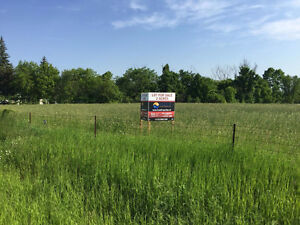 Lot for Sale.  Just outside of Arnprior. Build your dream home.