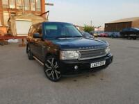 LAND ROVER RANGE ROVER 3.6TD V8 AUTOMATIC VOGUE HSE,HPI CLEAR,SUNROOF,YEAR M.O.T