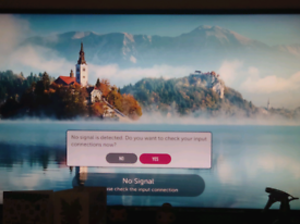 49 inch LG smart TV (unboxed, but like new) £300