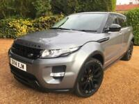 LAND ROVER RANGE ROVER EVOQUE 2.2 SD4 DYNAMIC LUX PACK , AUTO , BLACK PACK !!