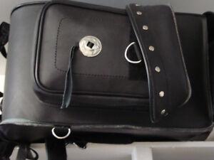 2 sac en cuir pour moto
