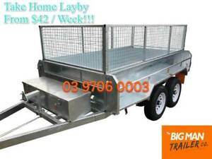 8×5 GALVANISED HYDRAULIC TIPPER TRAILER 3.5T ATM Carrum Downs Frankston Area Preview