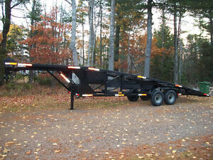 2007 KAUFMAN 2  CAR WEDGE TRAILER