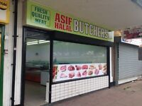 Halal meat shop for rent in Kings Norton.