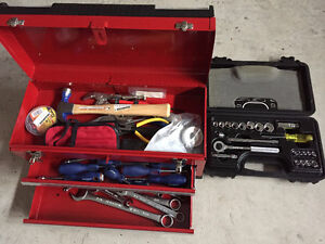 Hand Tools for Sale with Tool Box.