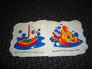 Goldie Goes Swimming (Peek-A-Boo Pets Bath Book) Kingston Kingston Area image 3