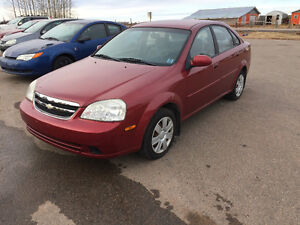 2004 CHEVY OPTRA WITH ONLY 68000 KM ONLY 2500.00$@902-293-6969