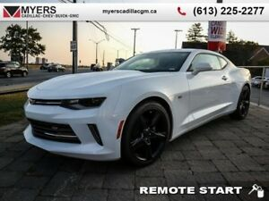 2018 Chevrolet Camaro LT  6SPD, SUNROOF, RS PACKAGE, 2.0 TURBO R