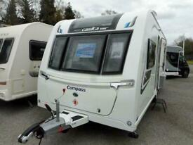 2019 Compass Casita 586 - 6 Berth Family Touring caravan