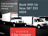 $95/hr Last Min. Service Available 587-353-6604 Stress Free Move