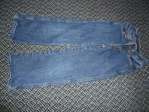 Boys Size 5 Pair of Sizable ROOTS Dark Blue Jeans Kingston Kingston Area image 1