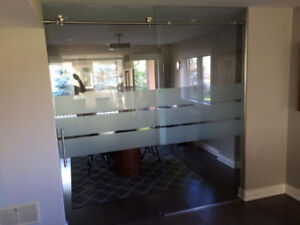 ** GLASS OFFICE PARTITIONS **