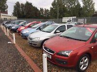 established car / van front car sales with office & workshop for rent/ to let £1200 pm , no vat