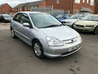 2003 Honda Civic 1.6 i-VTEC SE Executive 5dr Hatchback Petrol Automatic