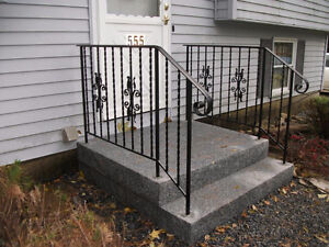 Wrought Iron Stair Railing - Used