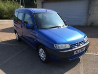 51 reg Citroen Berlingo 1.9 Diesel 5 Door Multispace Forte Miami Blue Metallic