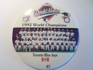 "HUGE 1992 Championship 6"" Desk Top Button (VIEW OTHER ADS) Kitchener / Waterloo Kitchener Area image 1"