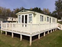8 berth platinum caravan for hire on Haggerston castle