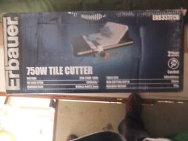 Tile Cutter by Erbauer Brand New and Boxed