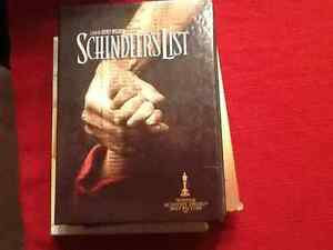 DVD La liste de Schindler 15$