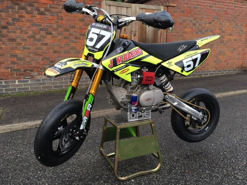 pit bike supermoto race ready in newmarket suffolk gumtree. Black Bedroom Furniture Sets. Home Design Ideas