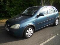 2002 Vauxhall Corsa 1.4 i 16v Comfort 5dr