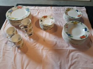 """Imperial Table """"Eden"""" pattern Dishes"""