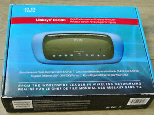 Cisco Linksys E-3000 dual-band Wireless Router