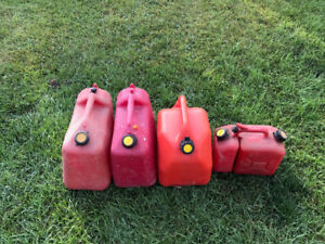 Gas Fuel Containers