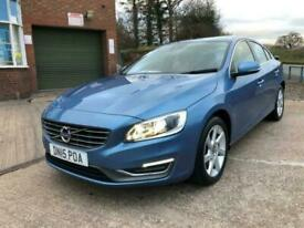 2015 Volvo S60 D2 [115] SE Lux 4dr FULL LEATHER, 20 ROAD TAX Saloon Diesel Manu