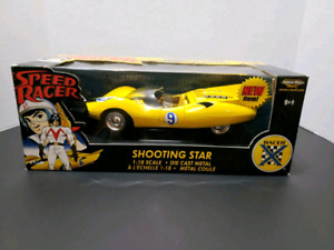 SPEED RACER SHOOTING STAR DIE CAST COLLECTABLE CAR 1:18 SCALE