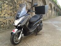 2015 Yamaha Majesty 125cc learner legal 125 cc scooter. 2 years before needs MOT low miles like PCX.