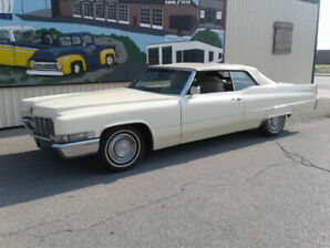Clean 1969 Cadillac convertible ready to Cruise