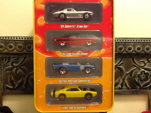 HOT WHEELS SINCE 68 RED LINE MUSCLE 4 CAR PACK London Ontario image 1