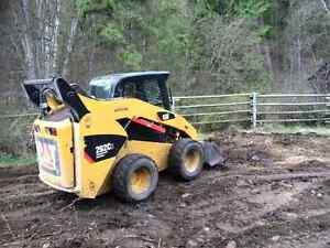 Skidsteer for rent