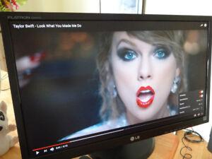 "LG Flatron E2442TC 24"" LED full HD 1080p monitor for sale"