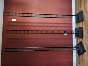 "96"" Freestanding Mini-Ladder Posts"