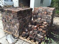 1100 handmade ornamental ancient bricks