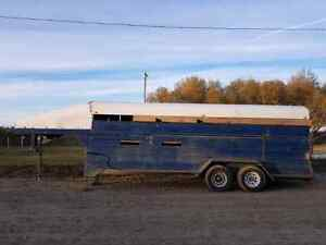 20ft stock trailer