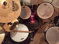Pearl EX full drum kit with all hardware