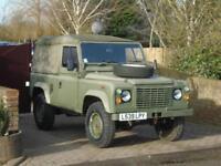1993 Land Rover Defender 90 Ex Army 2.5 Diesel