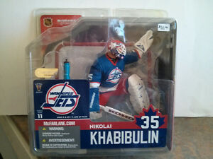 McFarlane Hockey Series 11 Nikolai Khabibulin Winnipeg Jets Blue