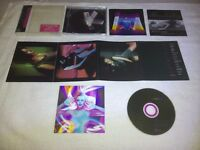 Rare Kylie Minogue 'Impossible Princess' Japan Issue CD with 3D Cover and Postcards. £20.