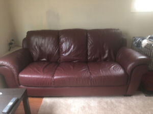 Couch & various items