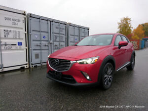 Used 2018 CX-3 GT AWD with only 454 km