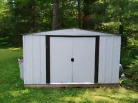 8' x 10' steel shed