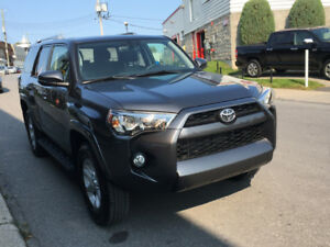 2017 Toyota 4Runner / TRES BAS KM / 7 passagers